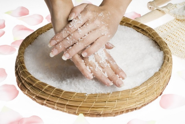 Sea Salt Hand Scrub