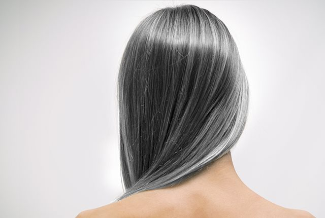 Reduces premature graying of hair