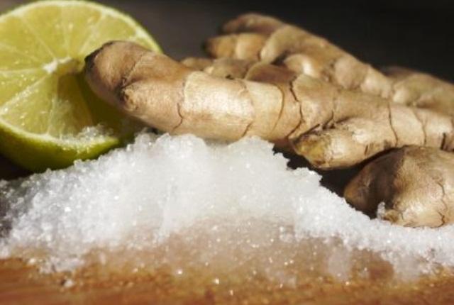 Ginger And Epsom Body Detox Bath