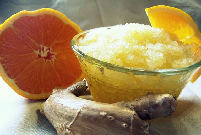 Ginger & Orange Body Scrub
