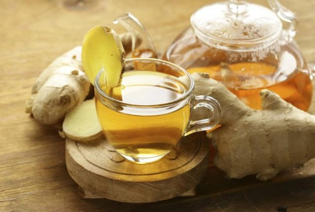 Tea Containing Honey, Ginger, And Cinnamon