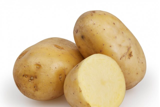 Rub Potato Slices