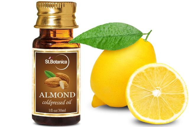 Almond Oil And Lemon Juice