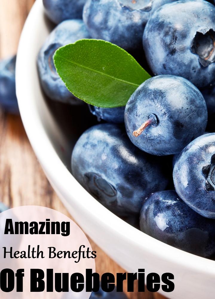 Amazing Health Benefits Of Blueberries