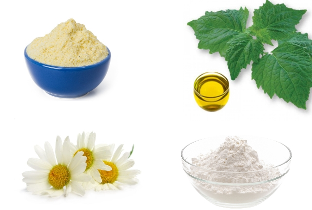 Cornflour and Chamomile Oil Dry Shampoo