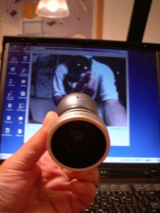 Fisheye Webcam - Don't try this at home