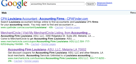 Accounting Firm Louisiana - Image from Google