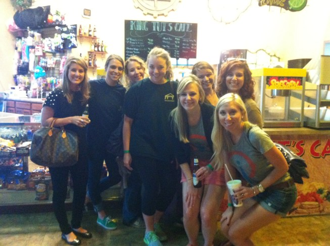 Some of our wonderful account managers: (L to R) Jordan, Maggie, Rebekah, Laura, Alison, Jeanne, Sarah, and Gabrielle.