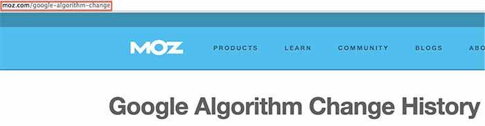 AlgorithmChangeIssue