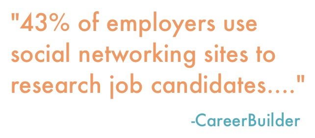 Search Influence New Orleans - Employers Use Social Media Career Builder Quote