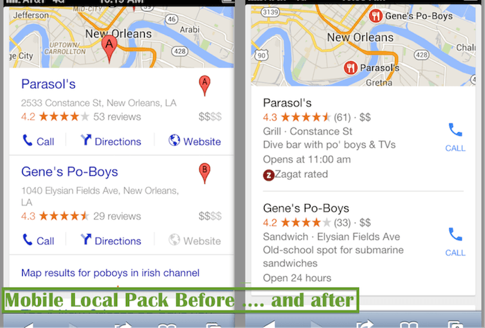 Mobile Local Pack Click Call Image