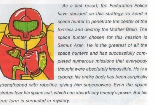 Metroid Manual Game Description Scan - Search Influence