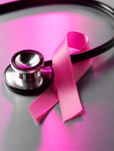 Image Of Stethoscope With Breast Cancer Ribbon At Medical Practice - Search Influence