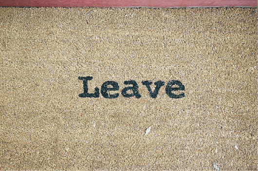 Leave doormat - Search Influence