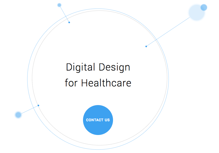 Image Of Screenshot of Digital Design for Healthcare One-Pager - Search Influence