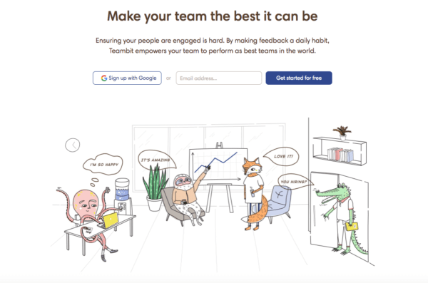 Image of Teambit Landing Page - Search Influence