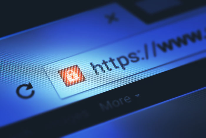 Image of an HTTPS secure site - Search Influence