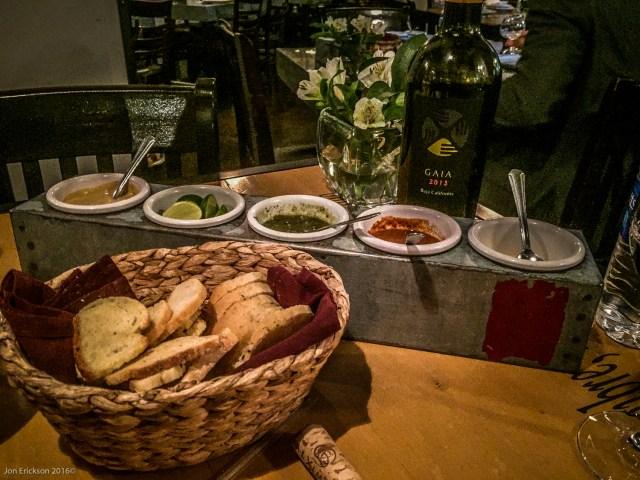 Salsas at La Querencia