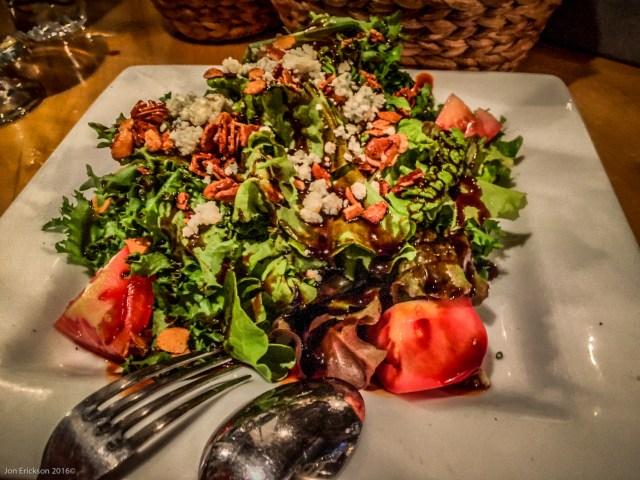 Mixed Salad at La Querencia