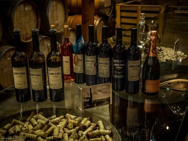 Seleccion de vino en Vena Cava