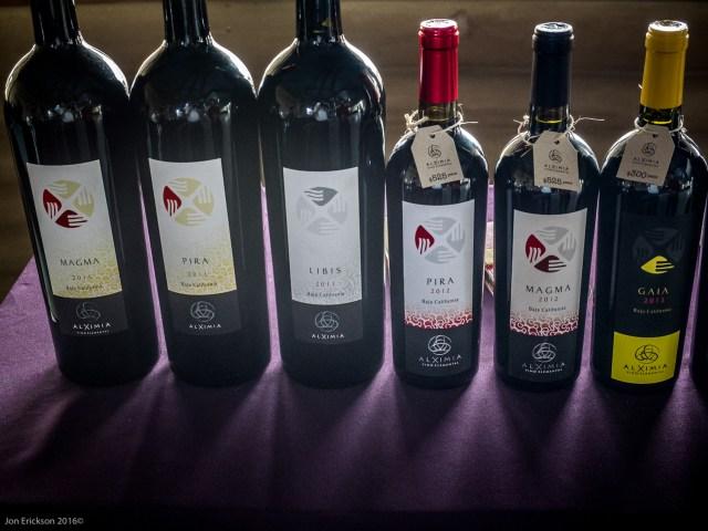 The Wines of Alximia