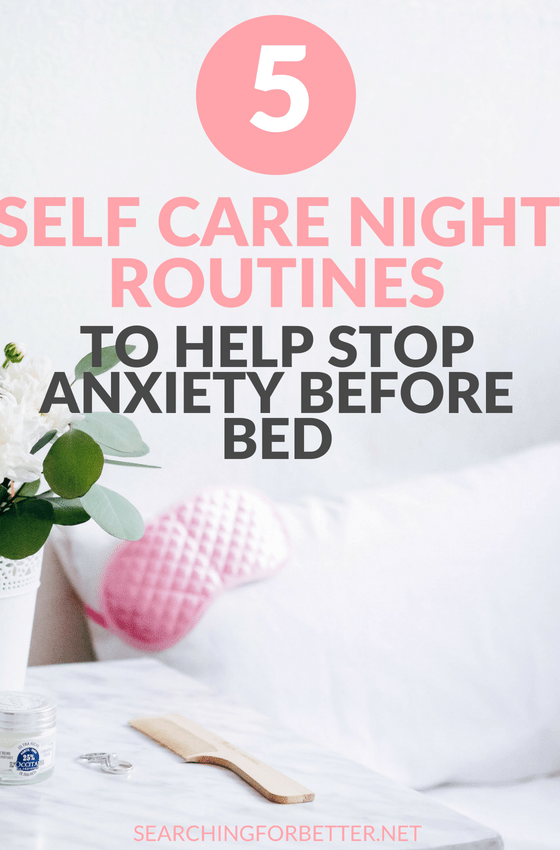 Falling asleep with #anxiety can be really hard. We're always so stuck in our heads! These simple #selfcare #tips and routines help the busy #momboss or #bossbabe relieve stress, worry and anxiety at nighttime. #healthy #healthylifestyle #mindset #selflove #mentalhealth