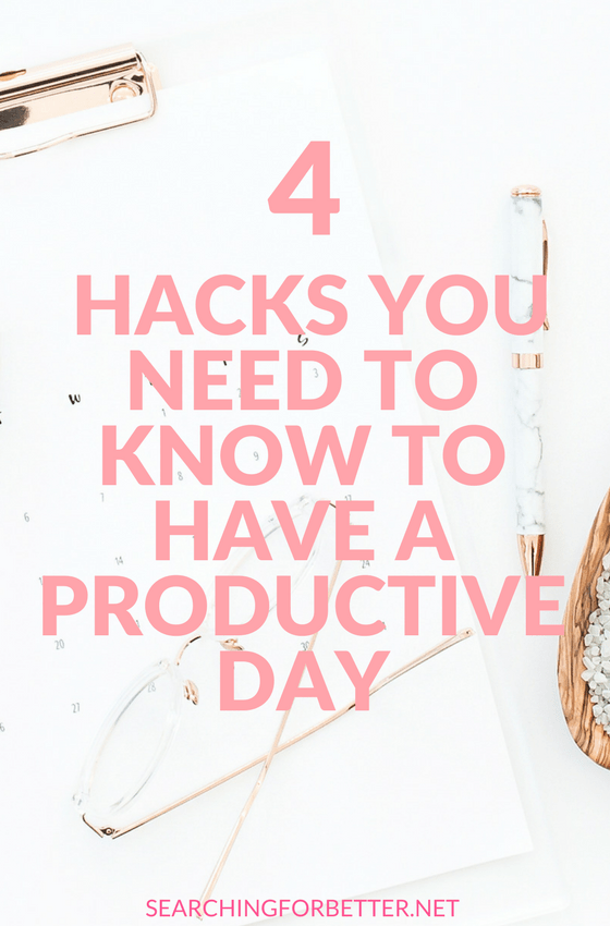 How To Have A #Productive Day. Simple but really helpful tips for your daily schedule! Whether you work from home or you're at #work, these #tips are good to know! Find out how to plan your day better and create a winning #routine. #motivation #inspiration #life #momboss #bossbabe #productivity #workfromhome #mindset #girlboss