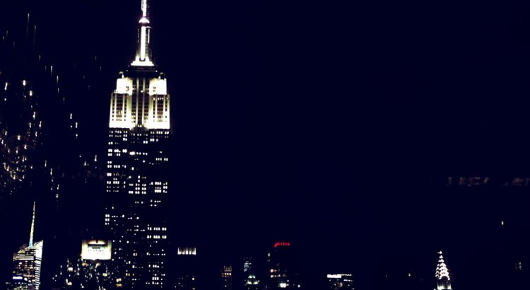NYC at night New York City