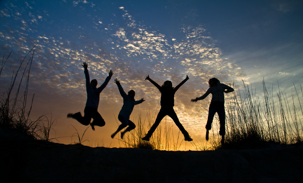 Image result for friendship silhouettes
