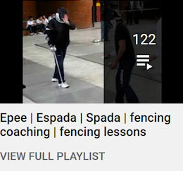 at-home epee lessons playlist