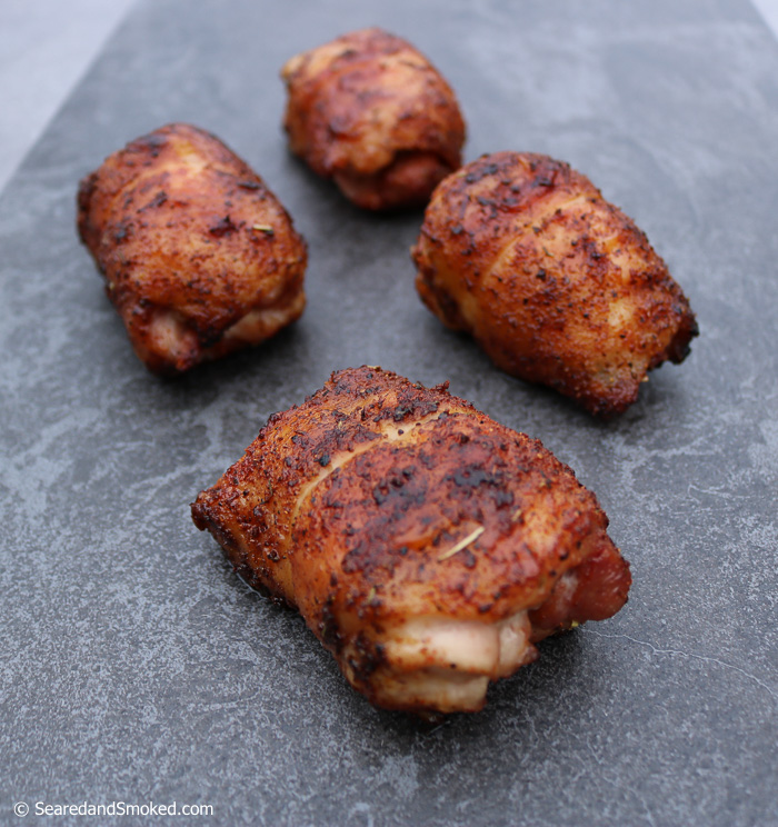 smoked boneless chicken thighs