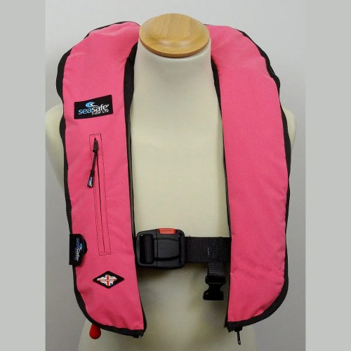 SeaSafe Systems I-Zip 170N LifeJacket - Hot Pink