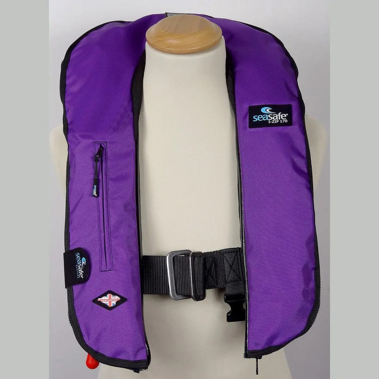 SeaSafe Systems I-Zip 170N LifeJacket - Purple