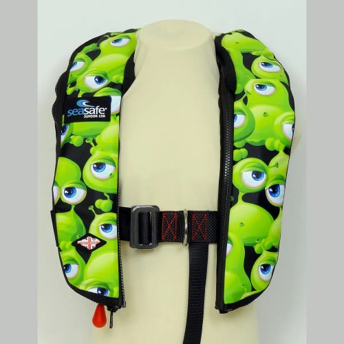 SeaSafe Systems Junior Automatic Life Jacket - Monsters