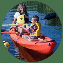 Kayak with Sea Serpent Tours!