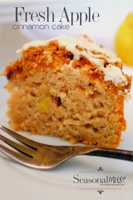 Fresh Apple Cinnamon Cake