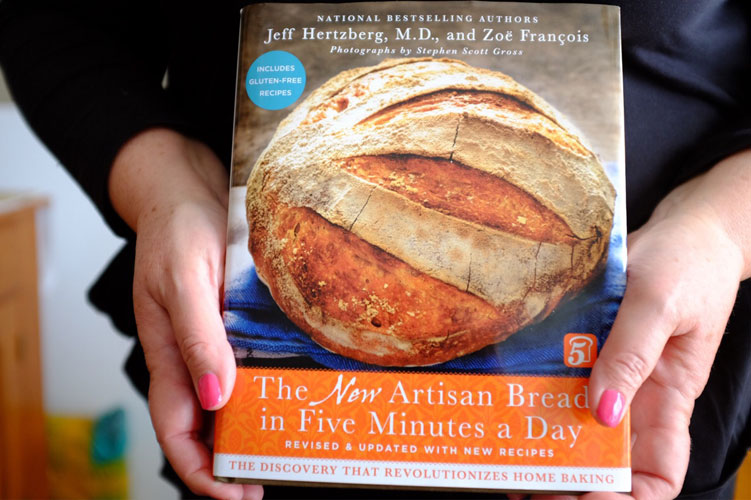 The artisan bread book in Five Minutes a Day | seasonalmuse.com