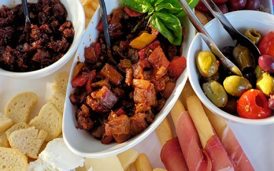 Cheese Plate & Bruschetta Bar Recipes