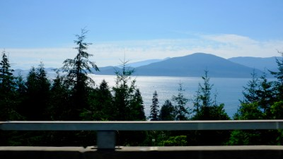 The Sea to Sky highway - 60 miles of beautiful vistas from Vancouver to Whistler.