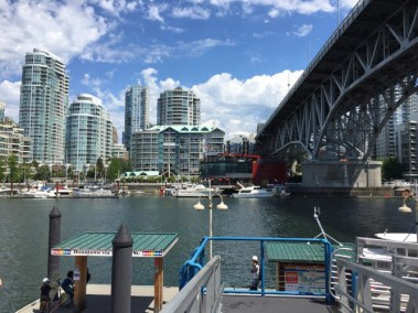 On Granville Island - the second most visit destination in Canada,