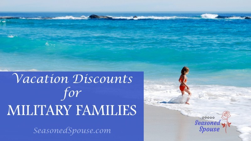 Military families can save money on vacation with these military discounts