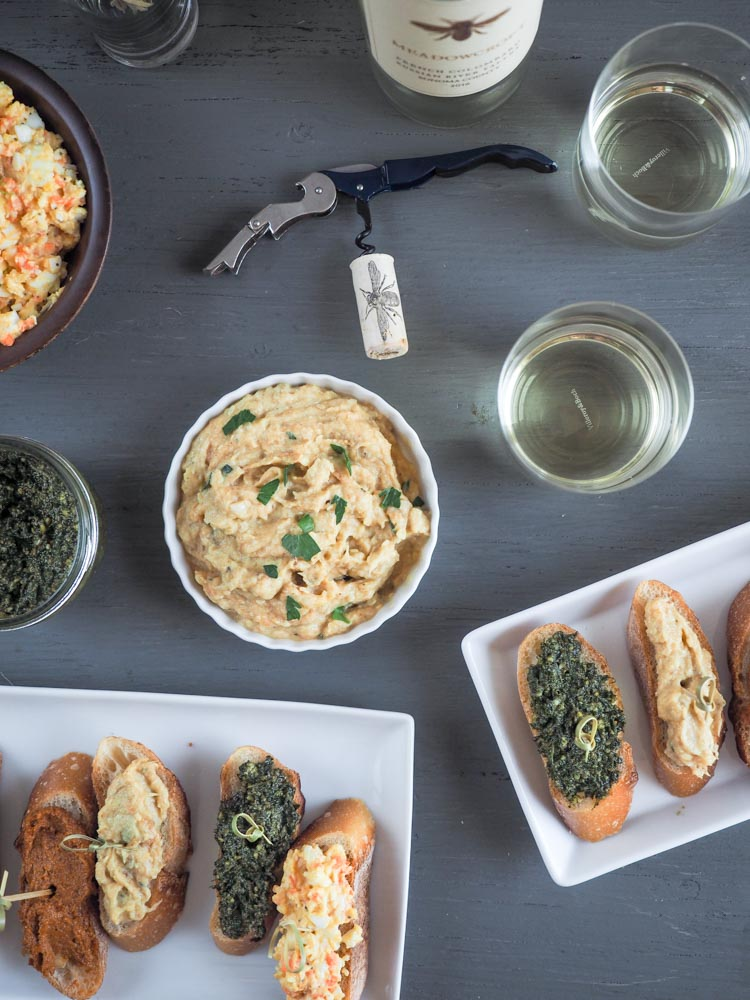 Pintxo Party   Vegetarian pintxos are the perfect menu for a summer time get together! So many options to pair with chilled wine or beer.   SeasonedVegetable.com