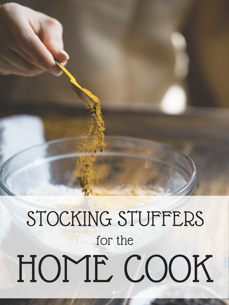 These stocking stuffer ideas for the home cooks, coffee lovers, and beverage connoisseurs are perfect for your food obsessed friends and family. | SeasonedVegetable.com #stockingstuffer #foodie #giftguide #homecook #essentialkitchentools