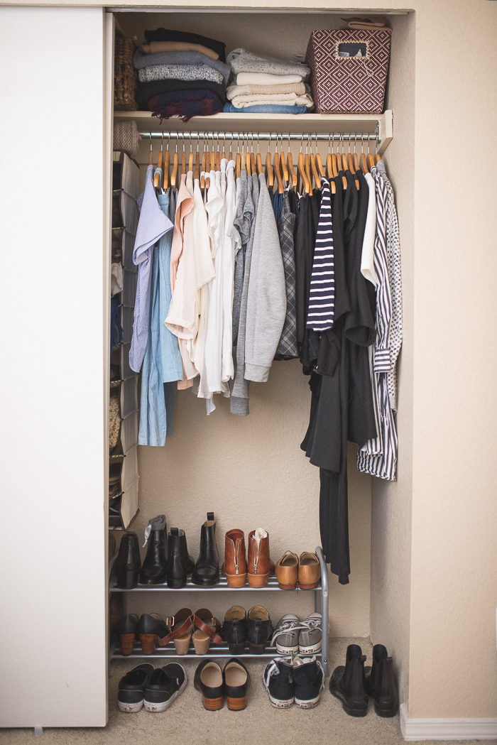 1 Make Four Piles The Great Closet Clean Out Is Your: New Year Closet De-Clutter: 5 Steps