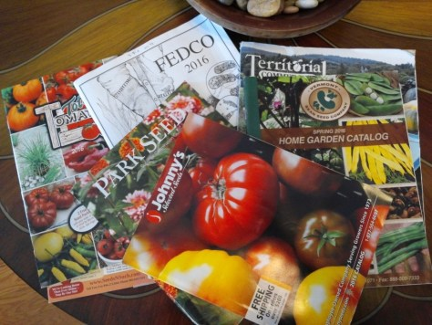 Seed catalogs 2016