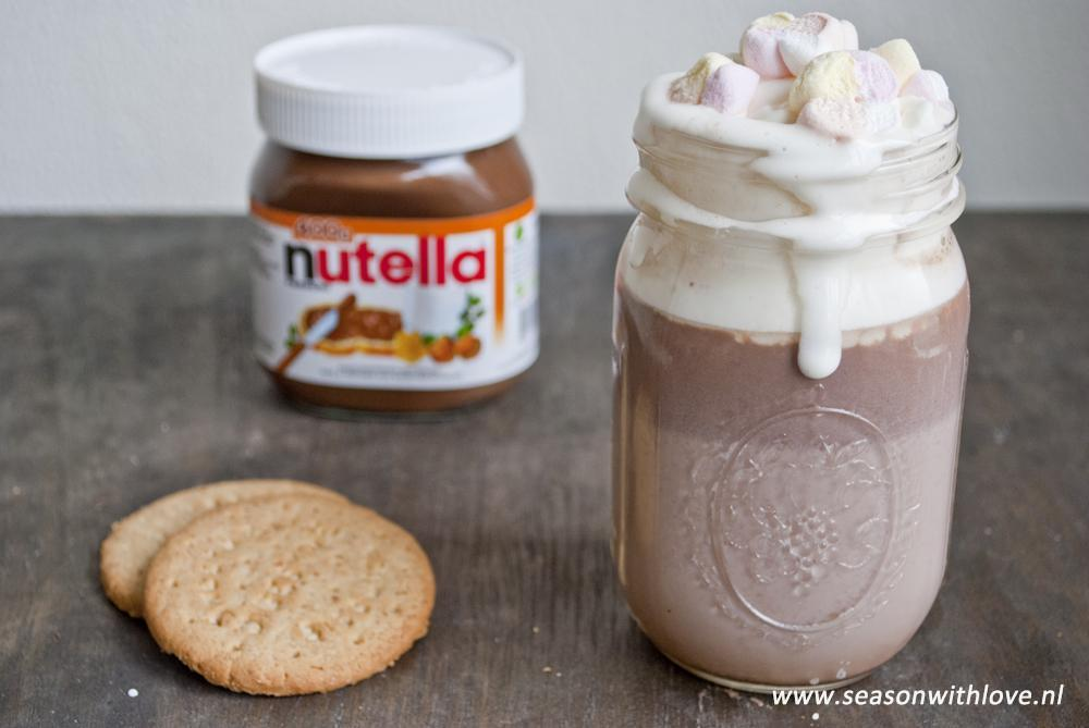 nutella chocolademelk
