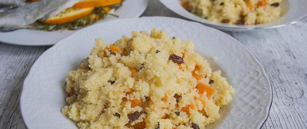Sinaasappel couscous