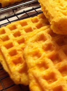 Cheddar Cornmeal Waffles (A Seat at the Table)