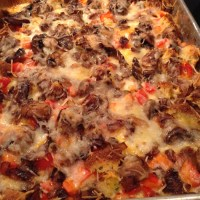 Cornbread Vegetable Strata