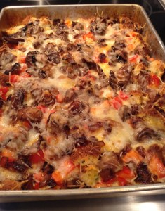 Cornbread Vegetable Strata (A Seat at the Table)
